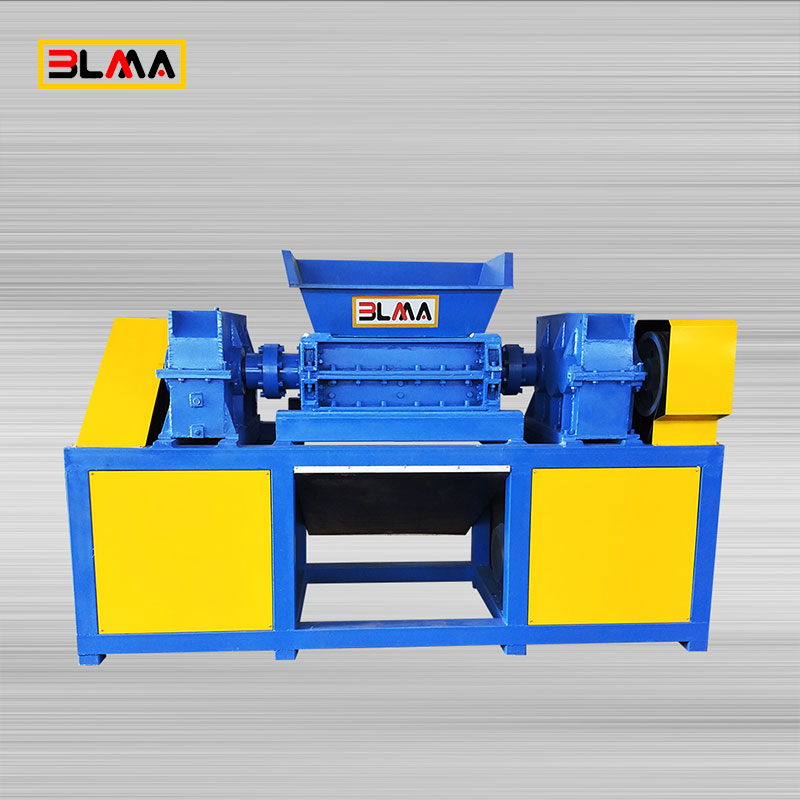 Shredder Aluminum Foil Metal Plate Profile Waste Recycle Crusher