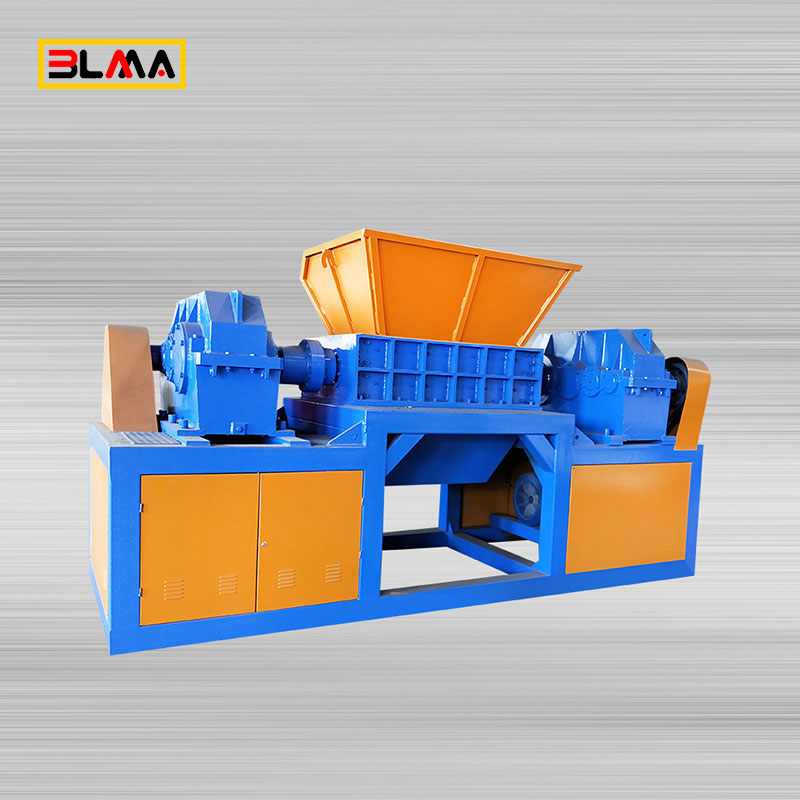 Rubber Car Truck Tire Tyre Recycle Shredder Crusher